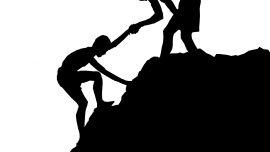 help, climbing, hand